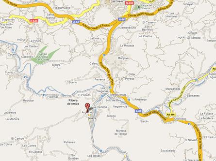 Dónde Estamos en Morcín (Asturias)